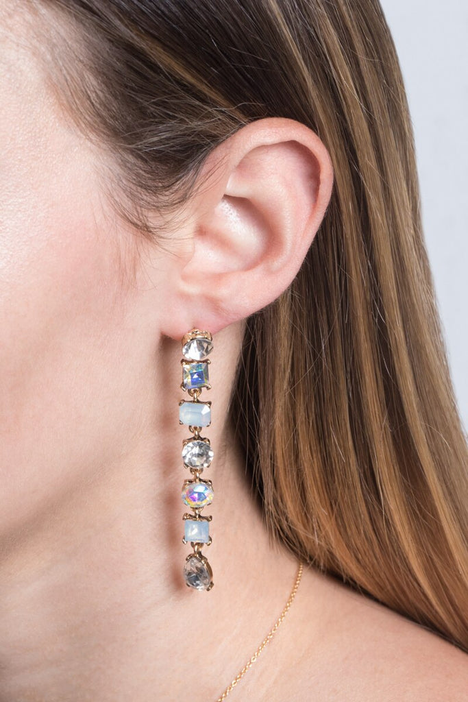 ELEGANT GIRL DROP EARRINGS
