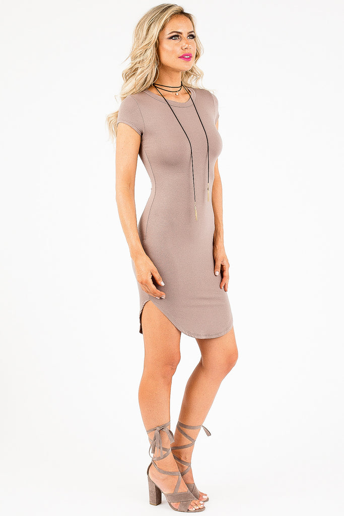 Mauve Must-Have Hannalee Dress