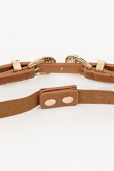 Brown Anna Rose Belt