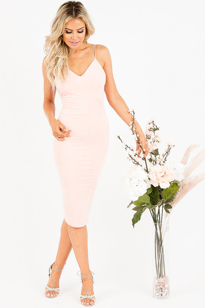 Baby Pink Sexy Soma Dress