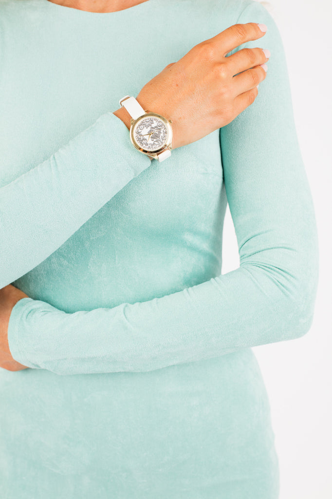 White Sparkle Nastasia Watch