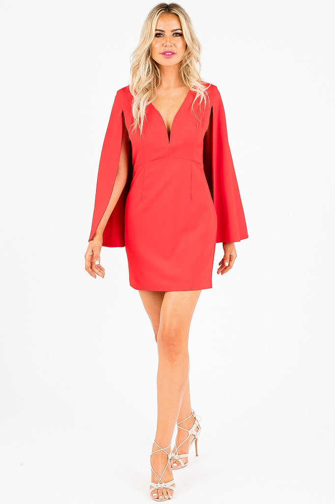 Tuck and Cover Red Anna Dress