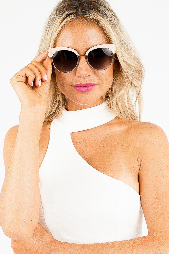 Seaside Sunglasses in Nude