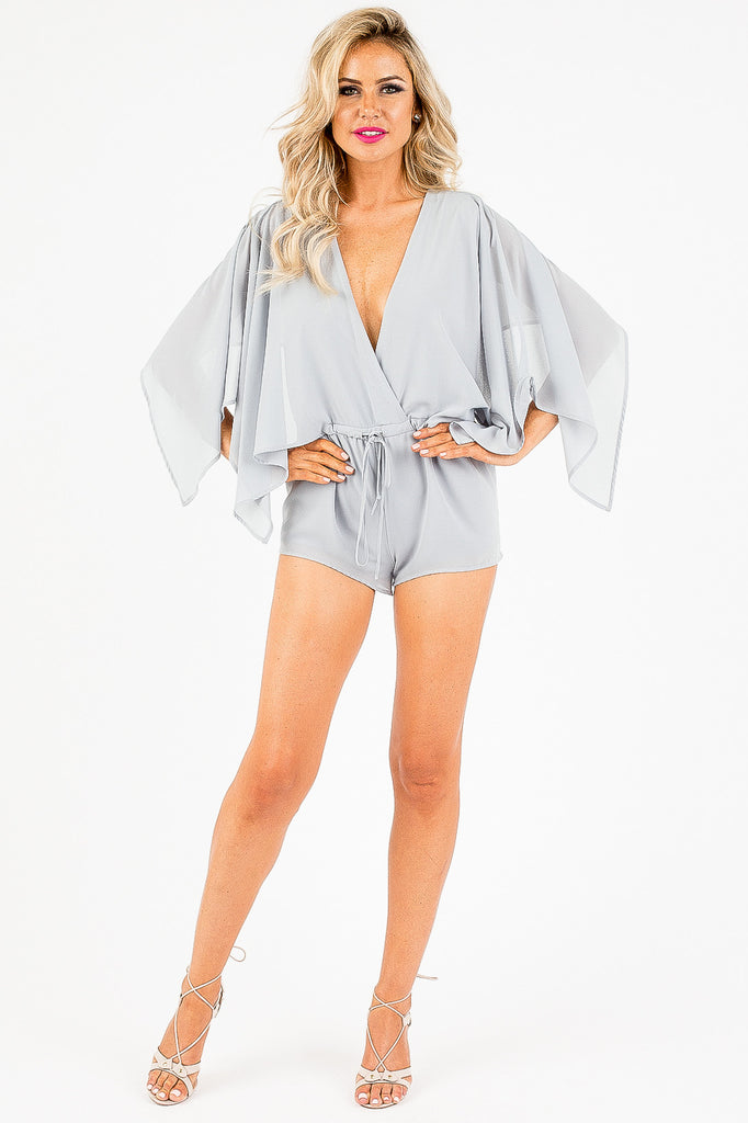 Walking on Cloud Fine Romper