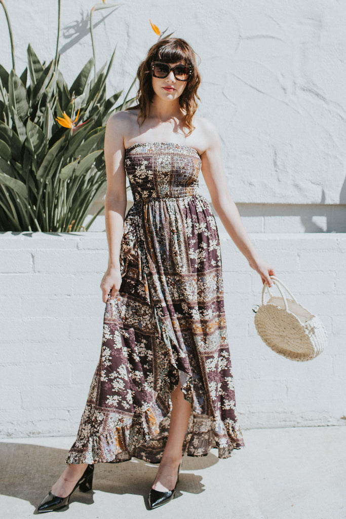 ITS ALL ABOUT STYLES MAXI DRESS