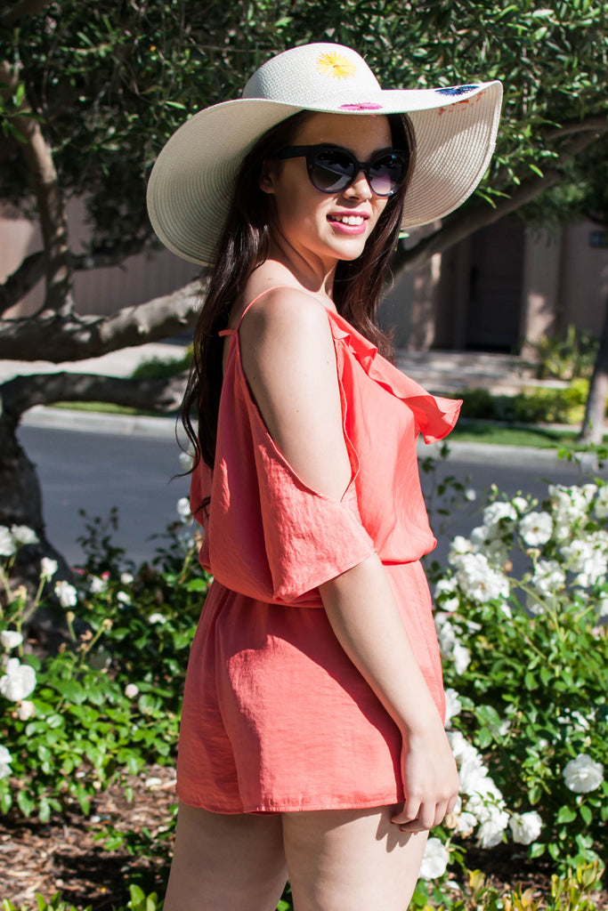 PRE-ORDER: CORAL OF THE SEA ROMPER
