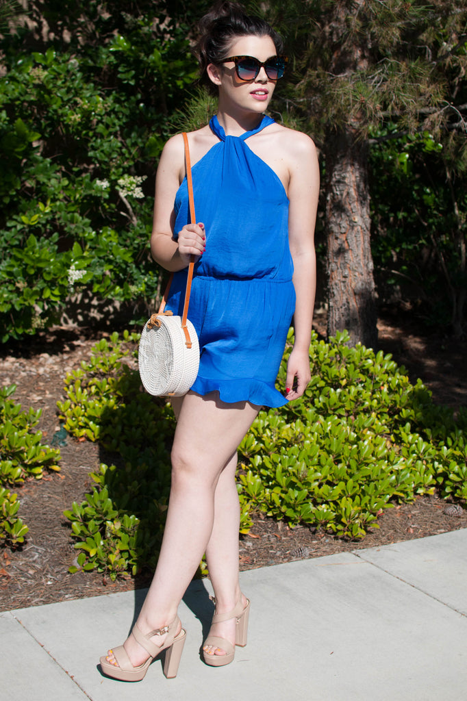 PRE-ORDER: BLUE IS MY COLOR ROMPER