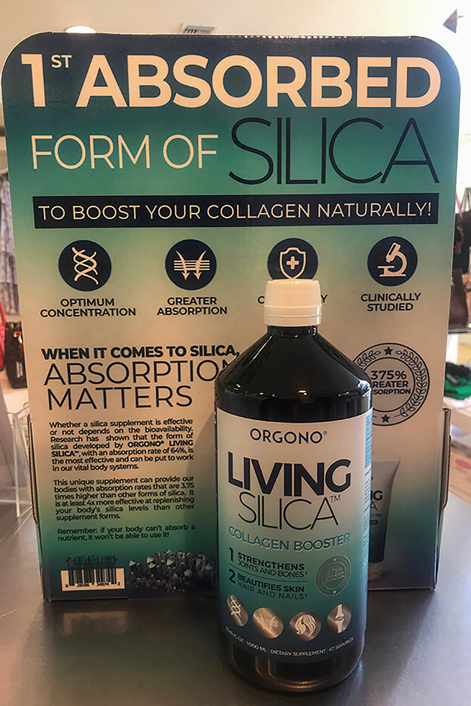 ORGONO LIVING SILICA - 1000 ML - Collagen Booster ( HAIR, SKIN & NAILS )