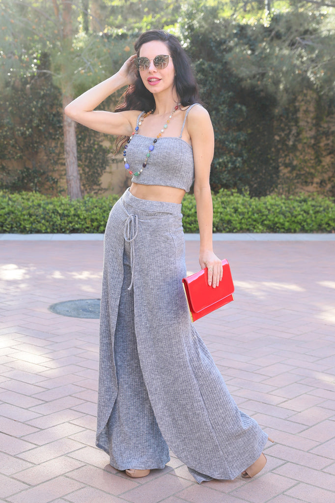 SPECTACULAR STYLE GREY TOP