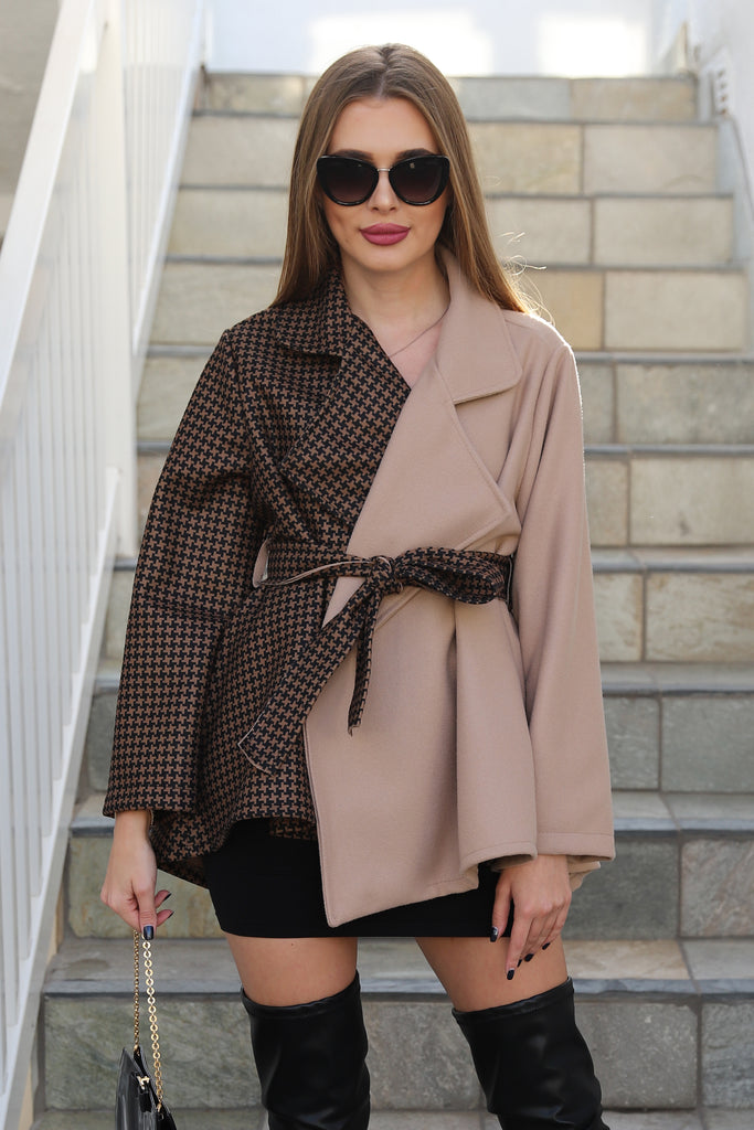 CHAPTERS OF FASHION CAMEL COAT