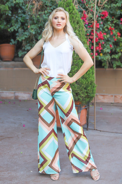 CHERISH THE MOMENTS MULTI COLOR PANTS