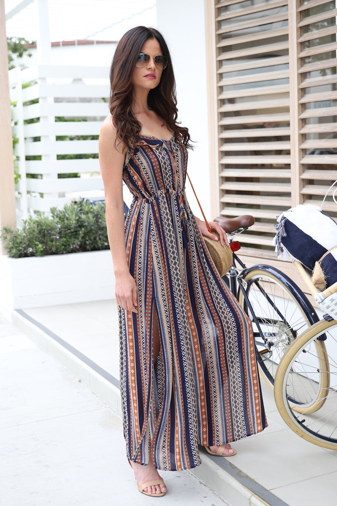 MOMENTS OF LIFE NAVY JUMPSUIT