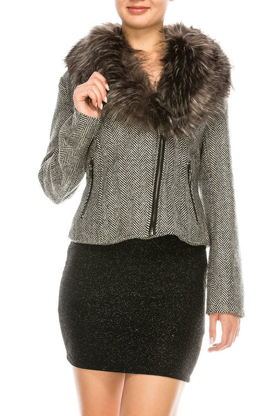 DIVINE HARMONEY GREY COAT
