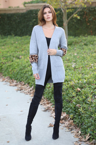 LAGUNA CHILLY DAYS GREY SWEATER
