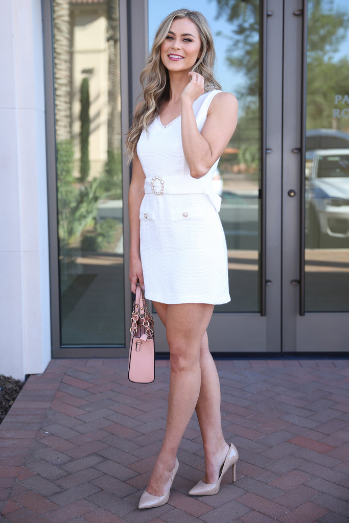 SWEETHEART STORIES WHITE DRESS