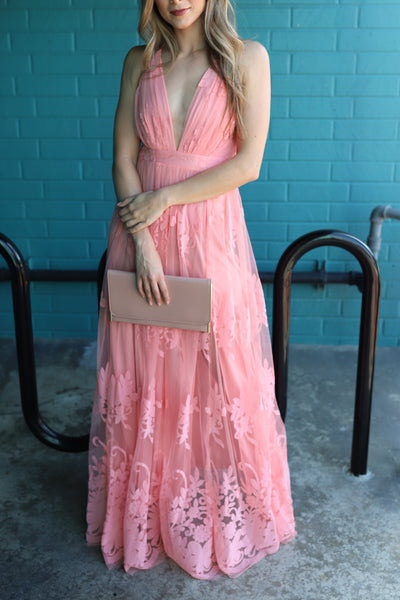 MYTHICAL KIND OF LOVE PEACH DRESS