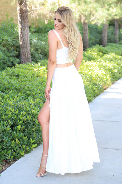 NOW AND FOREVER FASHIONISTA WHITE SKIRT