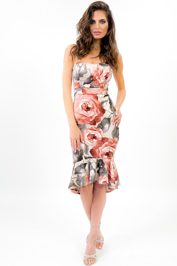 Floral and Flare Flavia Dress