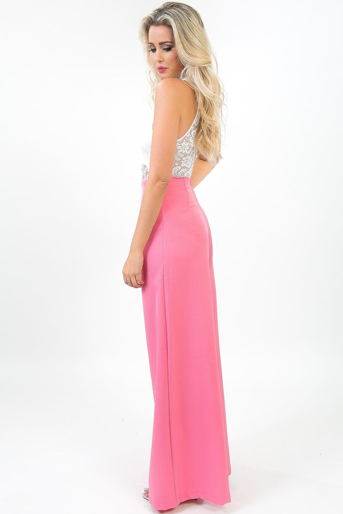 Pink Punch Flare Pants