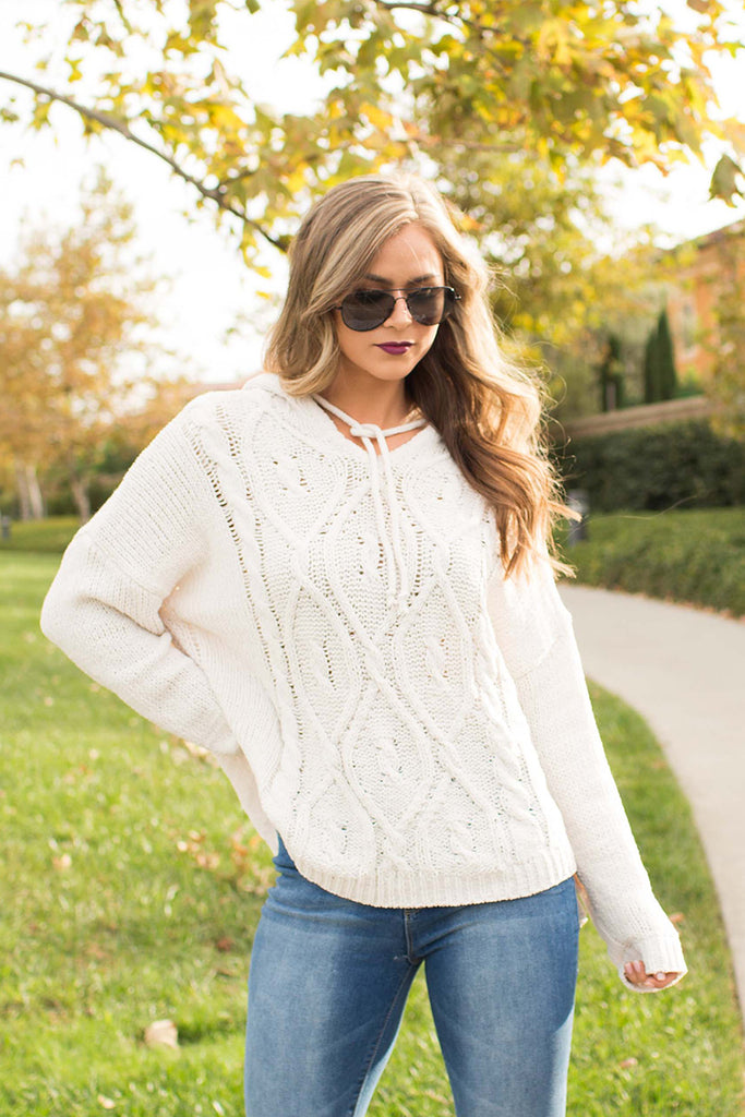 Pre-Order: IT'S SO AUTUMN BEIGE SWEATER