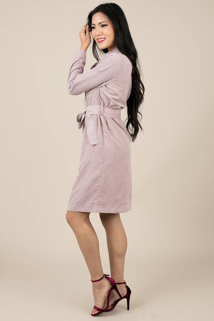 Light Purple Lenia Jacket