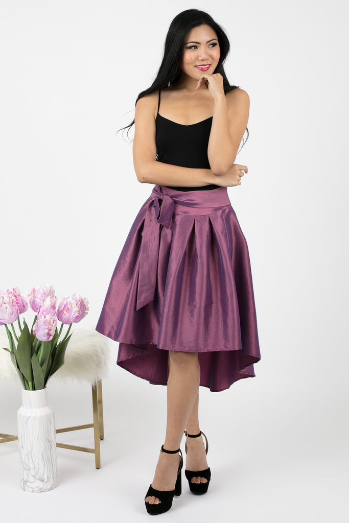 High Low Isabelle Skirt