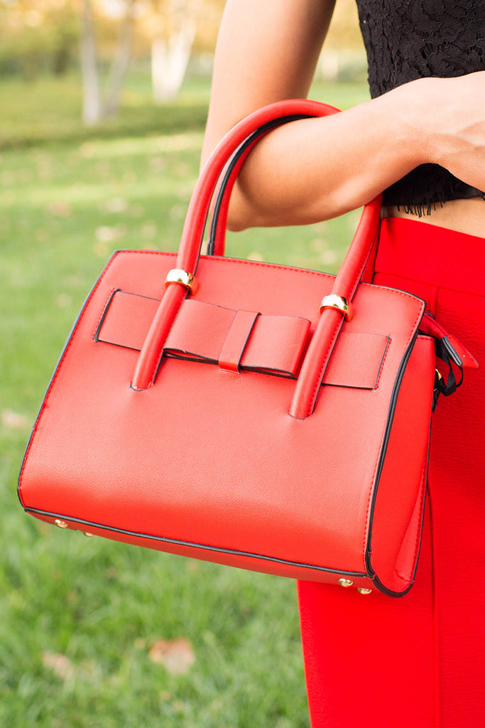 DARLING RED DATE NIGHT BAG