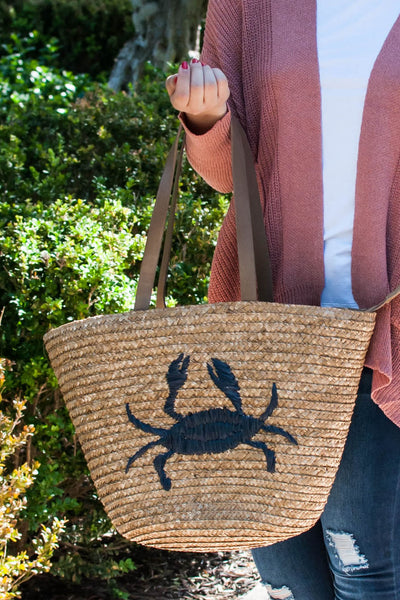 PRE-ORDER: BEACH AND SEA WOVEN BASKET