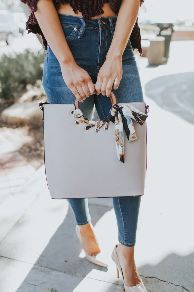 PRE-ORDER: HONEYSUCKLE HANDLE PURSE