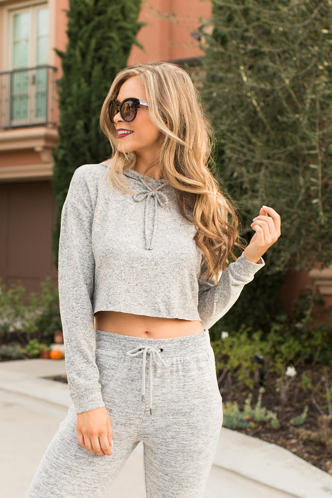 PRE-ORDER: SWEET DARLING GREY SWEAT TOPS