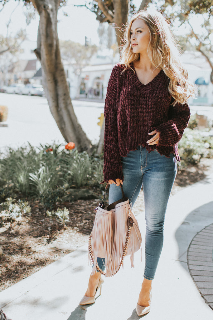 PRE-ORDER: EVERYTHING PINK FRINGE TOTE