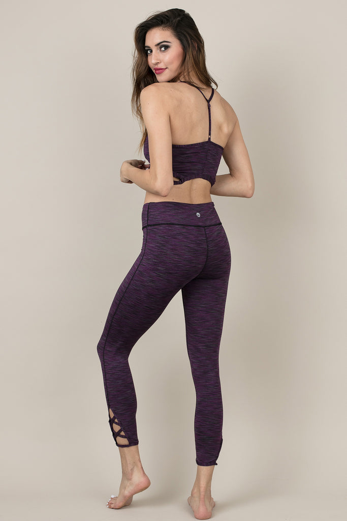 Purple Activewear Strength Pants