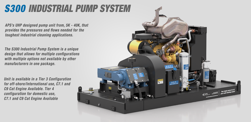S300 Industrial Pump System