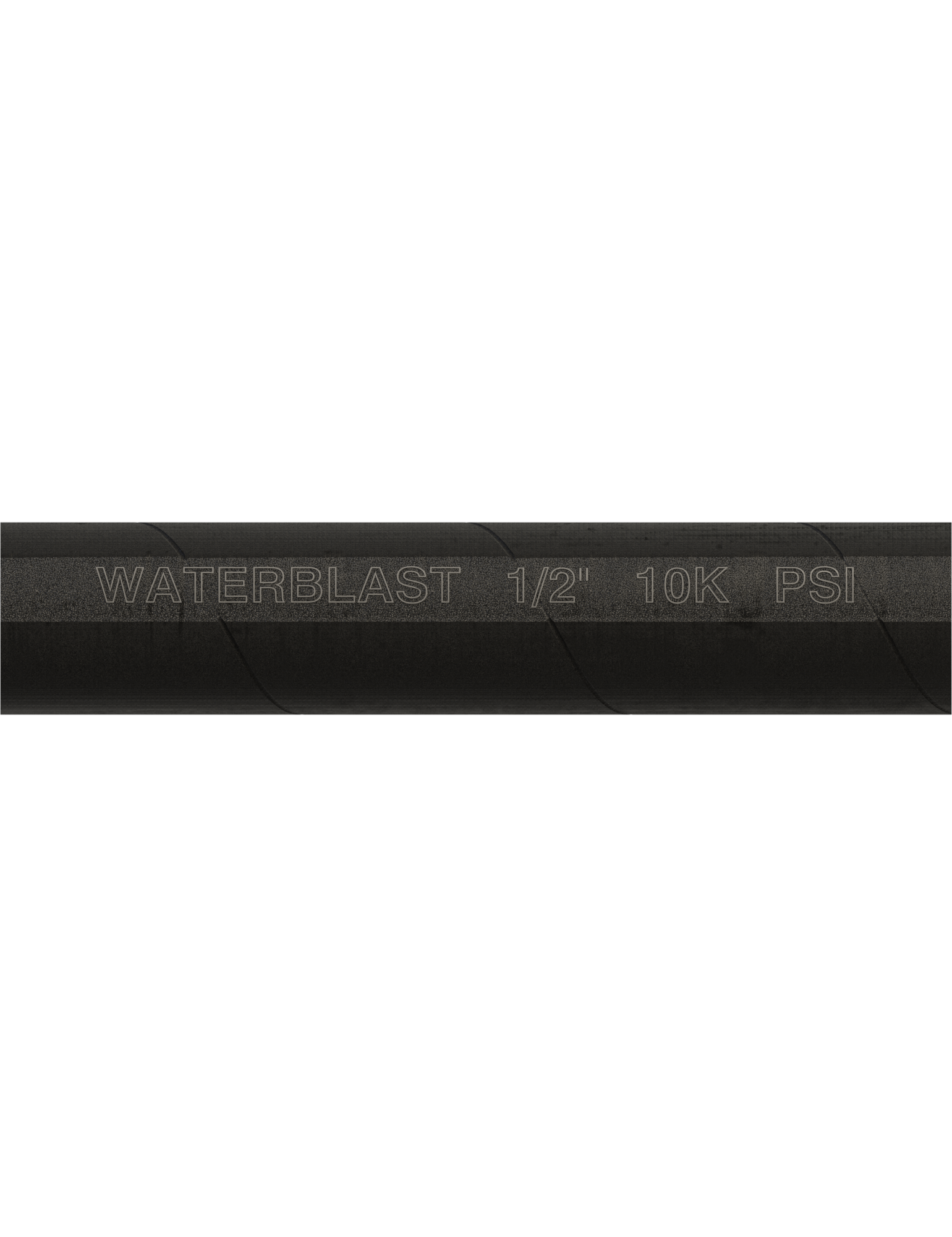 "Hose Type | 1/2"" NPT 10K psi Black Rubber Hose"
