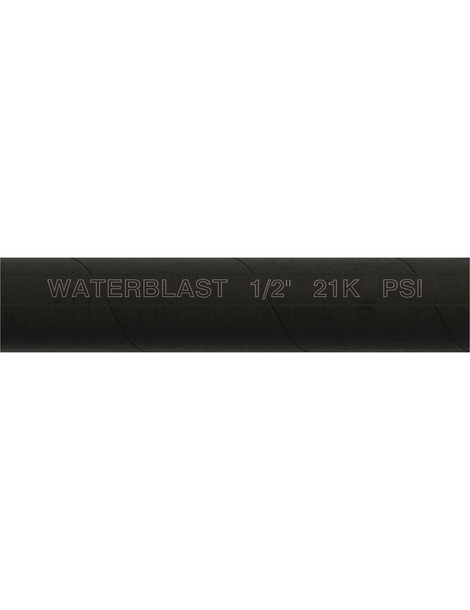 "Hose Type | 1/2"" NPT 21K psi Black Rubber Hose"