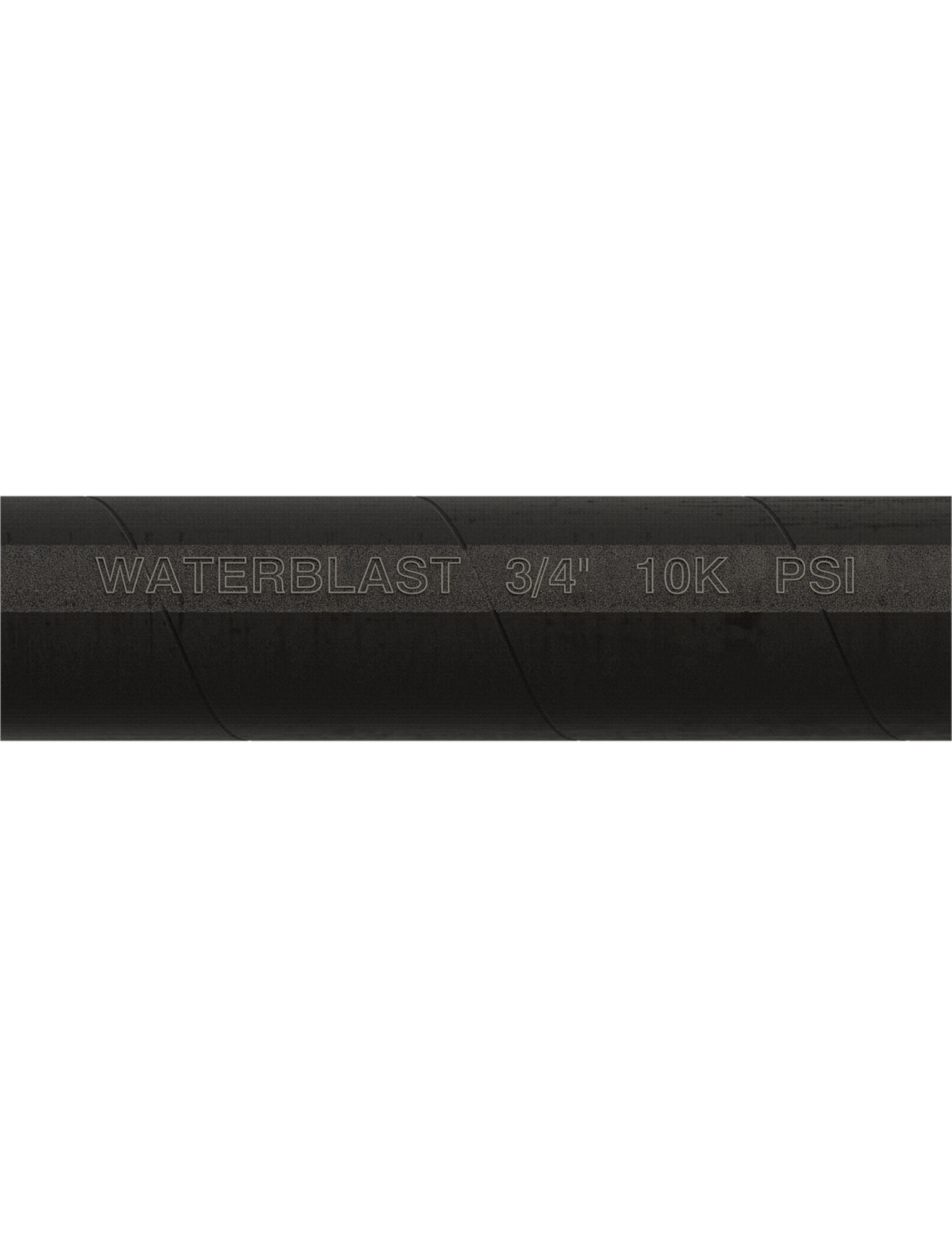 "Hose Type | 3/4"" NPT 10K psi Black Rubber Hose"