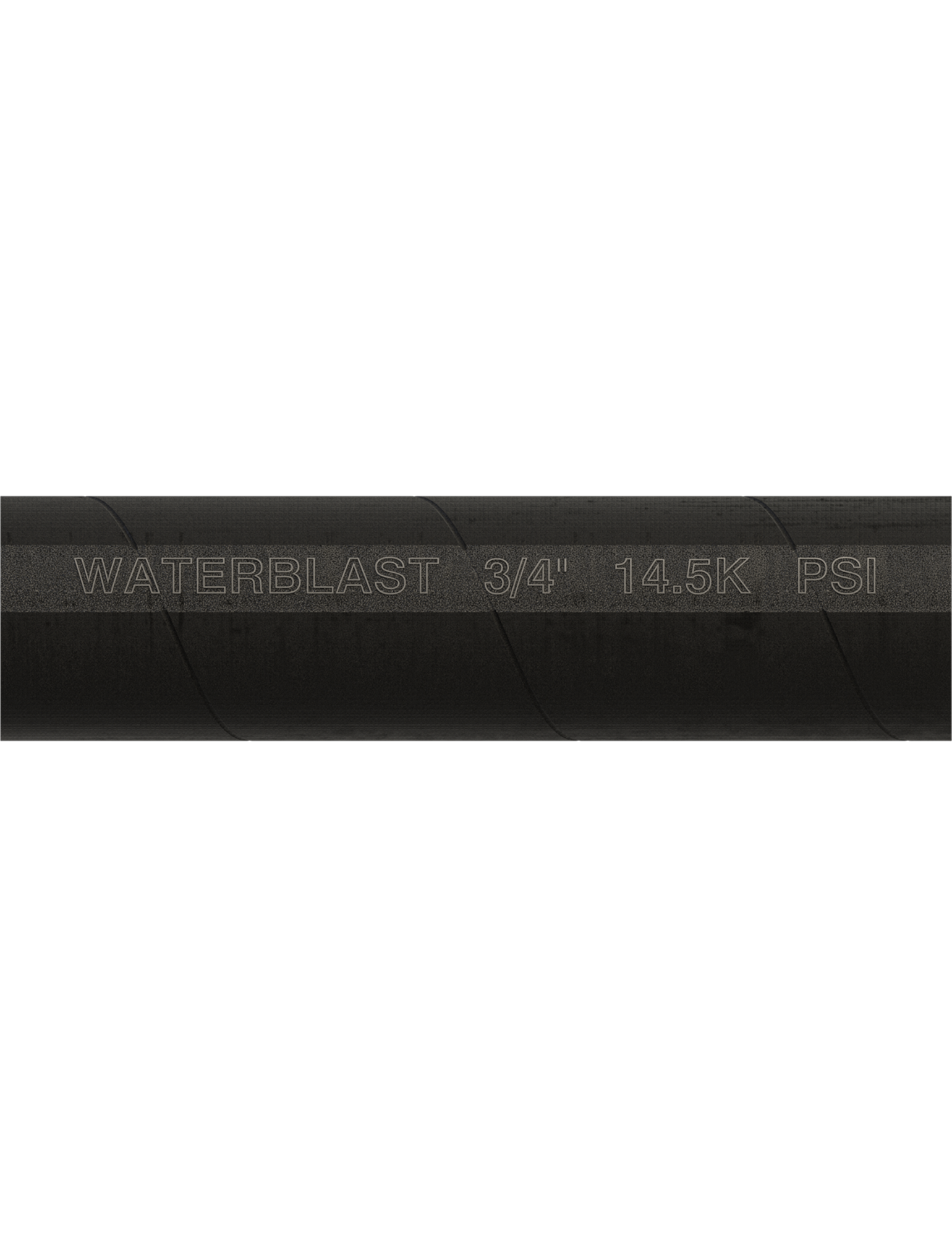 "Hose Type | 3/4"" NPT 14.5K psi Black Rubber Hose"