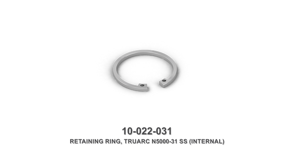 Truarc N5000-31 Stainless Steel Internal Retaining Ring