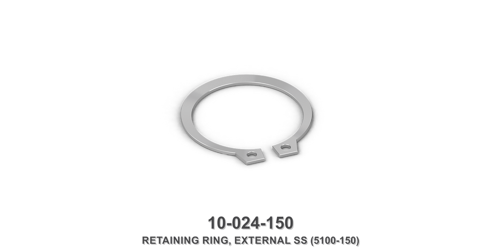 External Stainless Steel 5100-150 Retaining Ring