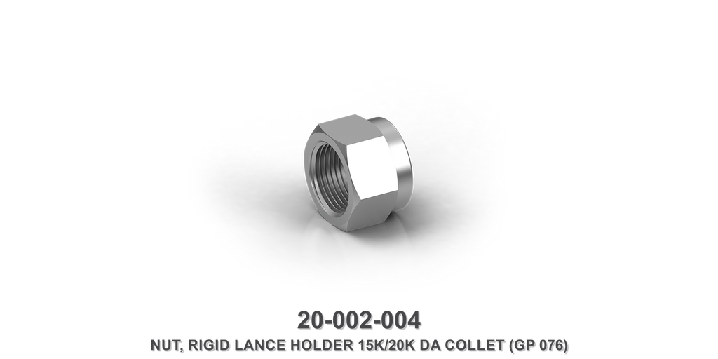 15K/20K Rigid Lance Holder DA Collet Nut