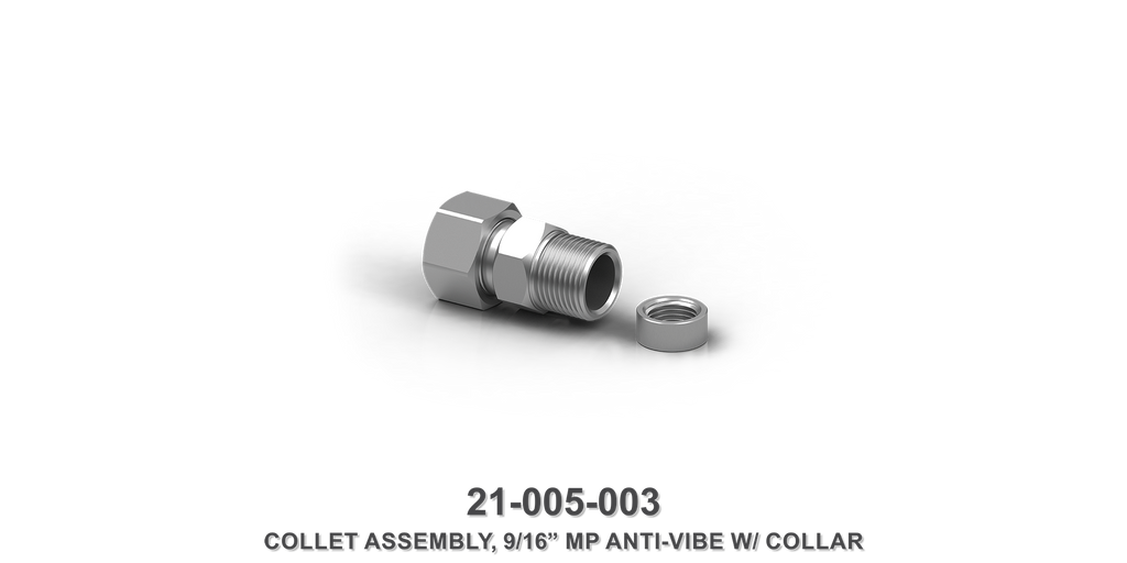 "9/16"" MP Anti-Vibe Collet Assembly with Collar"