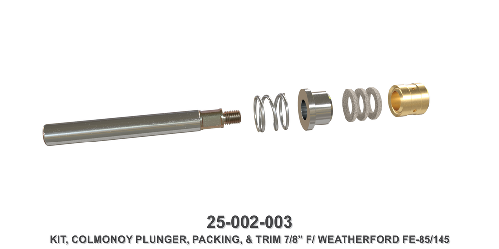 "7/8"" Colmonoy Plunger Assembly - Weatherford Type"