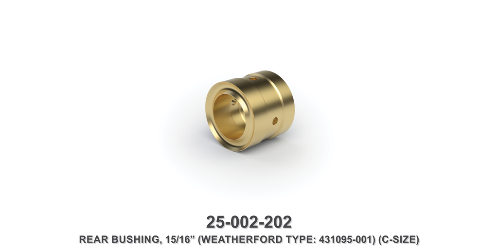 "15/16"" Rear Bushing - Weatherford Type"