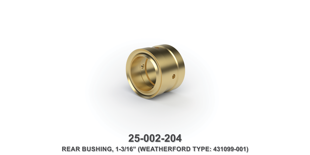 "1-3/16"" Rear Bushing - Weatherford Type"