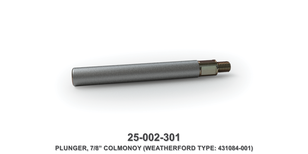"7/8"" Colmonoy Plunger - Weatherford Type"