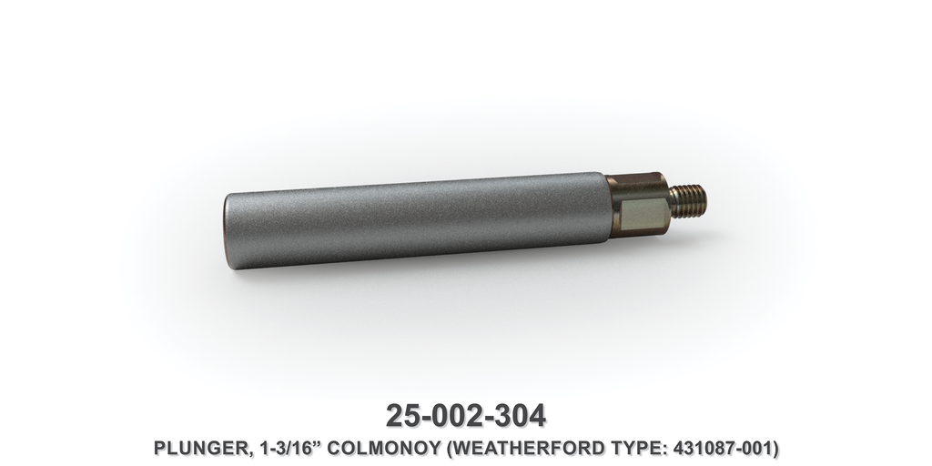 "1-3/16"" Colmonoy Plunger - Weatherford Type"