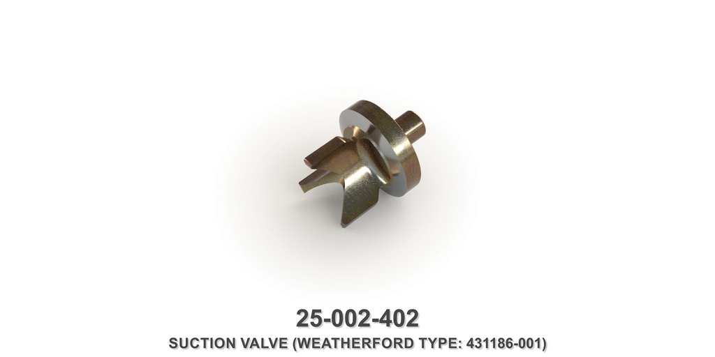 Suction Valve - Weatherford Type