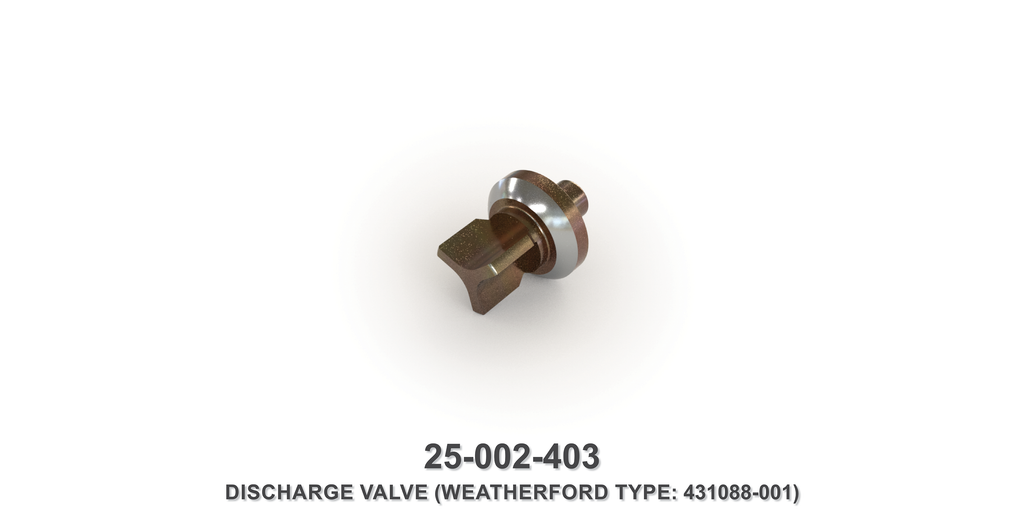 Discharge Valve - Weatherford Type