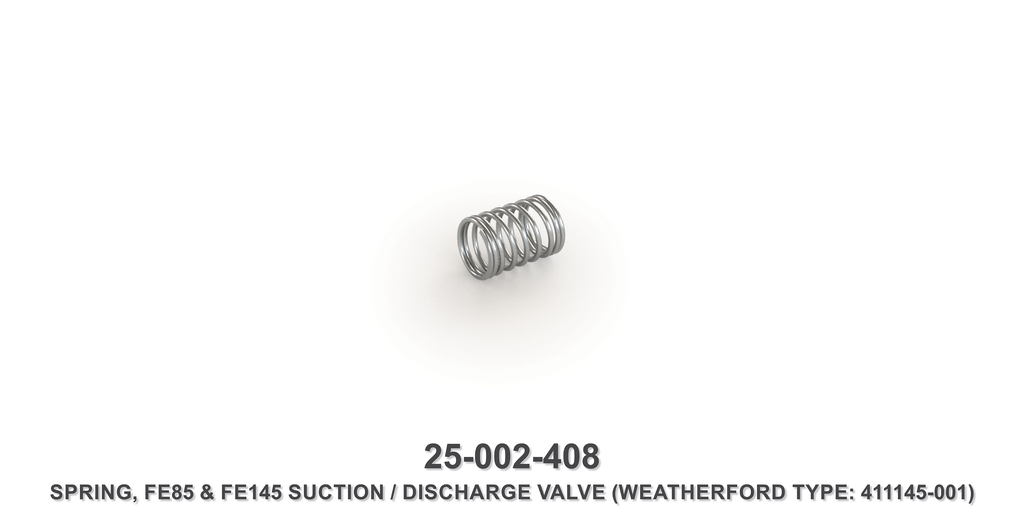 Suction / Discharge Valve Spring - Weatherford Type