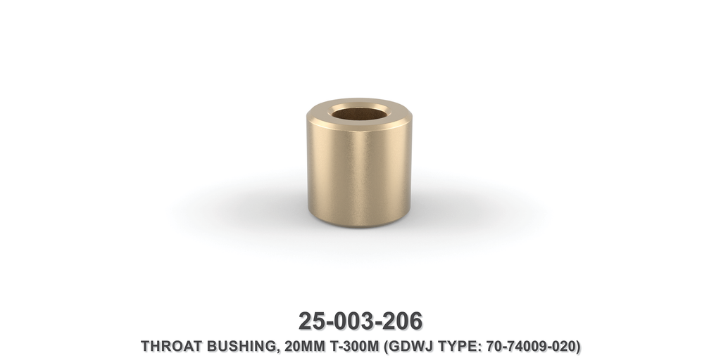20 mm Throat Bushing - Gardner Denver / Butterworth Type